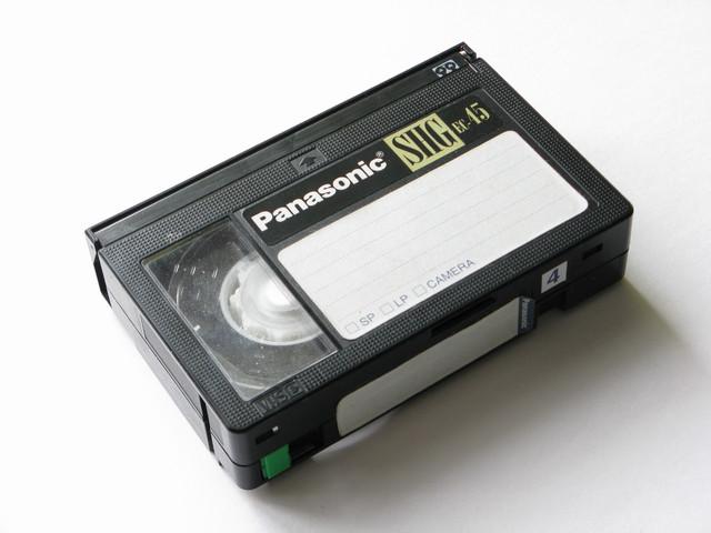 оцифровка VHS-C